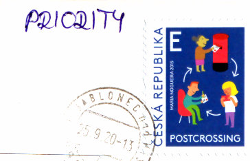 stamp czech republic