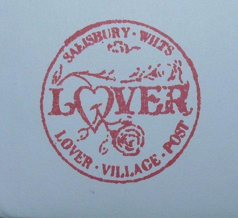 Lover valentine's day postmark
