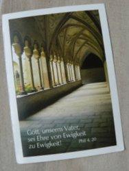 Christian postcard from Belarus