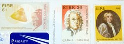 Irish stamps composer J.S. Bach