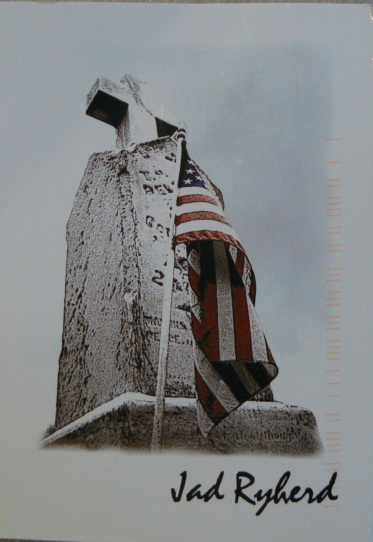 postcard gravestone