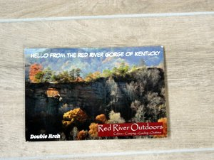 postcard red river gorge Kentucky USA