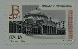 italian stamp Naples