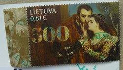 stamp Lithuania