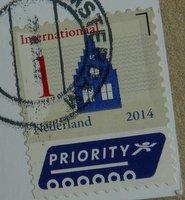 standard postage stamp Netherlands international