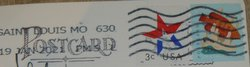usa stamps with postmark