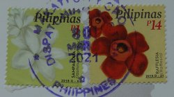 flower postage stamps philippines