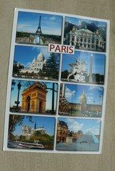 postcard paris france