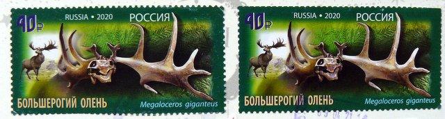 Postage stamp Irish Elk