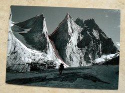 mountaineer postcard