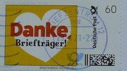 postage stamp individual deutsche post