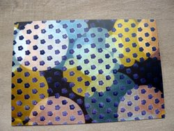 postcard Contemporary Pattern Design