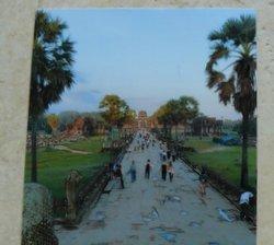 photo postcard angkor wat cambodia
