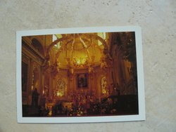 postcard cathedral quebec
