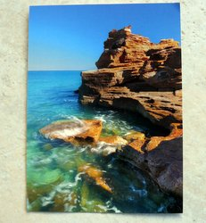 postcard Gantheaume Point Broome Western Australia