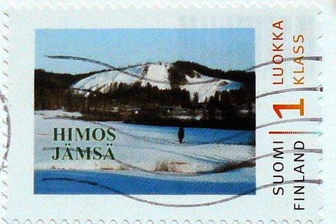 finnish stamp ski resort himos jämsä