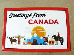 postcards greetings from Canada