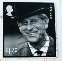 postage stamp prince philip