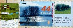 nature landscape postage stamps Netherlands