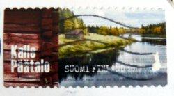 Finnish postage stamp Kalle Päätalo